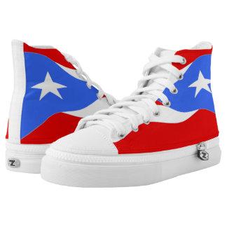 Zapato de la bandera de Puerto Rico Zapatillas