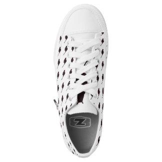 Zapato de lona del top del punto bajo del gato zapatillas