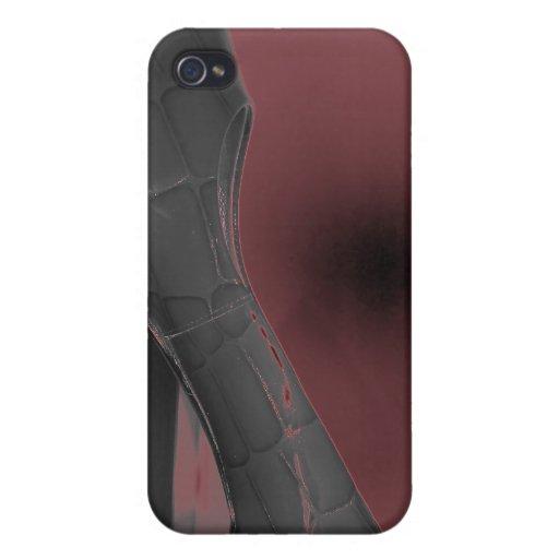 Zapato de neón iPhone 4 protectores