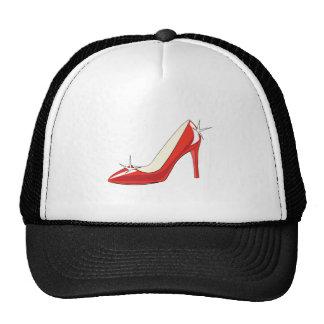 Zapato de tacón alto gorro de camionero