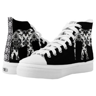 Zapato del damasco del elefante zapatillas