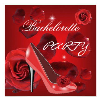 Zapato del talón de los rosas rojos del fiesta de comunicados personales