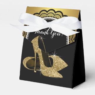 Zapato elegante del tacón alto del brillo del cajas para detalles de boda