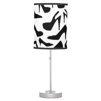 zapato pattern.ai lámpara de mesa