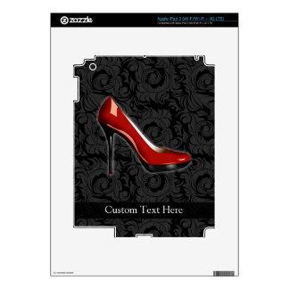 Zapato rojo descarado iPad 3 skin
