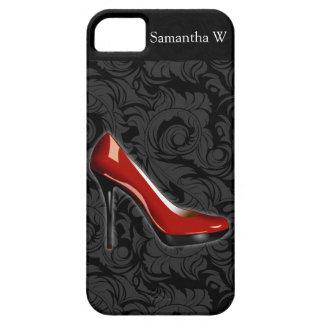 Zapato rojo descarado iPhone 5 carcasa