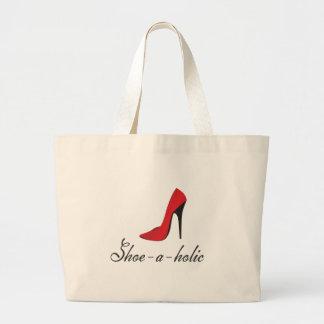 Zapato-uno-holic Bolsa Tela Grande