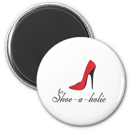 Zapato-uno-holic Imán Redondo 5 Cm