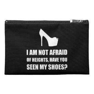 Zapatos asustados de las alturas