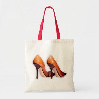 Zapatos calientes bolsa tela barata