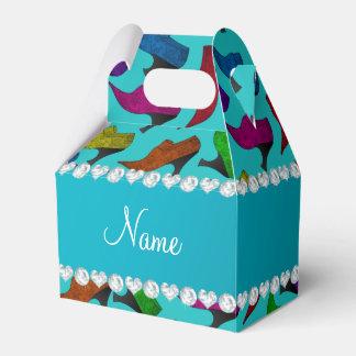 Zapatos conocidos personalizados del vintage del cajas para detalles de boda