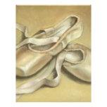 Zapatos de ballet membretes personalizados