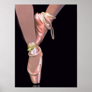 Zapatos de ballet póster