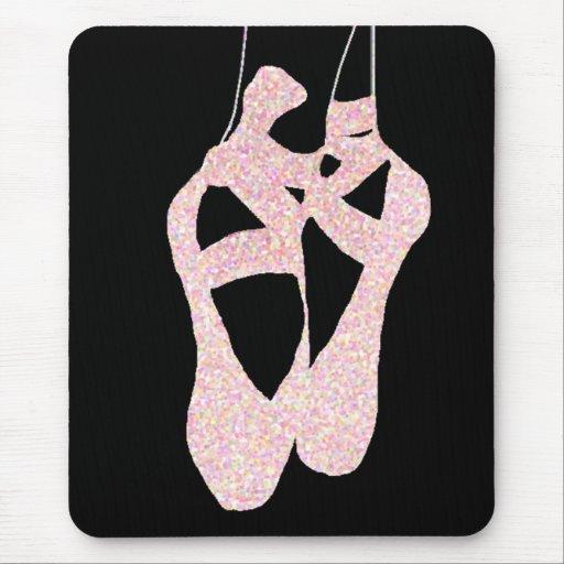 Zapatos de ballet preciosos del En Pointe Mousepad