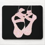 Zapatos de ballet preciosos del En Pointe Mousepad Tapetes De Ratón