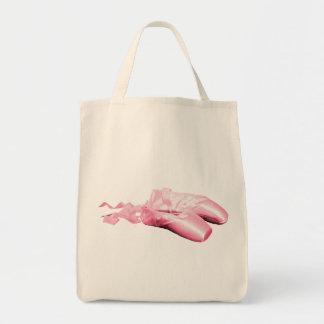 Zapatos de ballet rosados bolsas