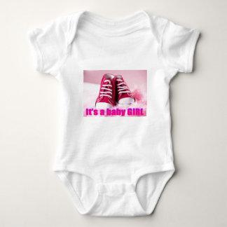 Zapatos de bebé lindos de la niña body para bebé