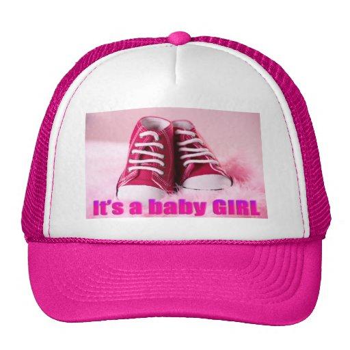 Zapatos de bebé lindos de la niña gorro