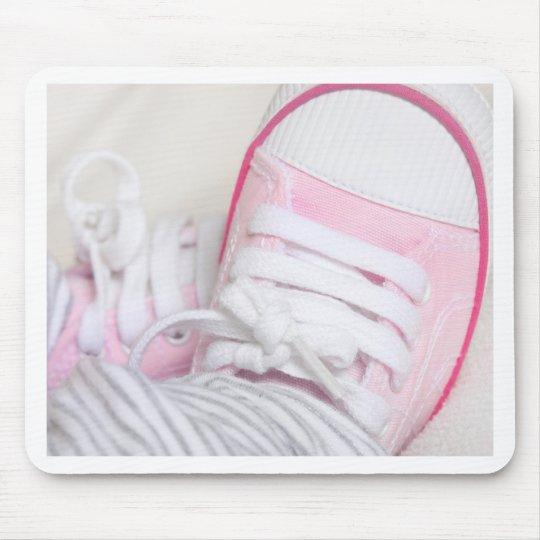 zapatos de bebé recién nacidos tapete de ratón