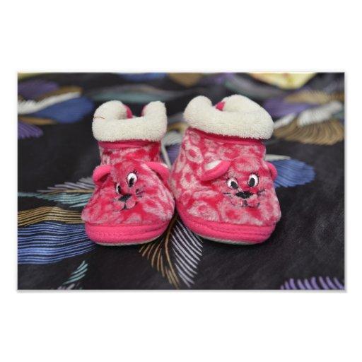 Zapatos de bebé rojos fotos