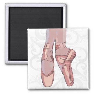 Zapatos de dedo del pie de los deslizadores del ba imán cuadrado