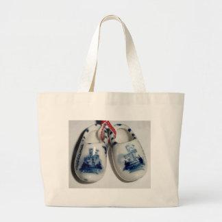 zapatos de Holanda Bolsa Tela Grande
