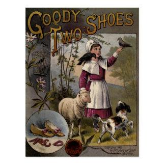 zapatos de la Chuchería-Dos de la cubierta de Postal