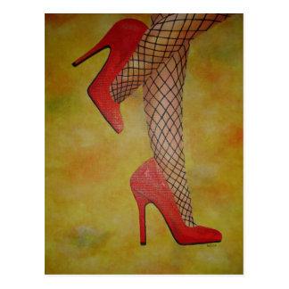 Zapatos de la chuchería dos postales