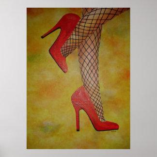 Zapatos de la chuchería dos póster