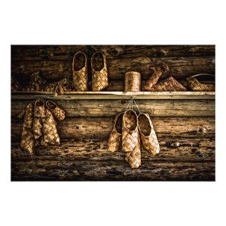 Zapatos de la estopa para la venta fotografía