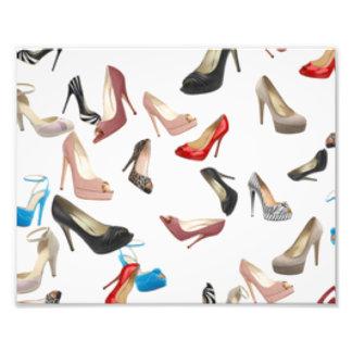 Zapatos de los tacones altos cojinete