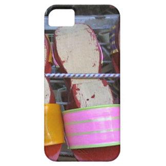 Zapatos de madera chinos, Singapur iPhone 5 Carcasas