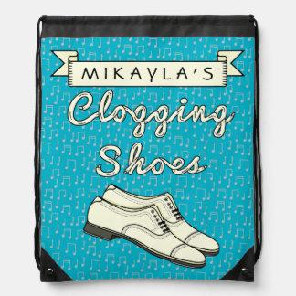 Zapatos de obstrucción personalizados para la mochila