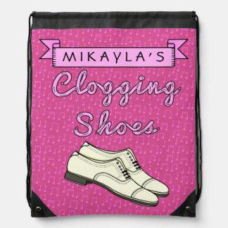 Zapatos de obstrucción personalizados para la mochilas