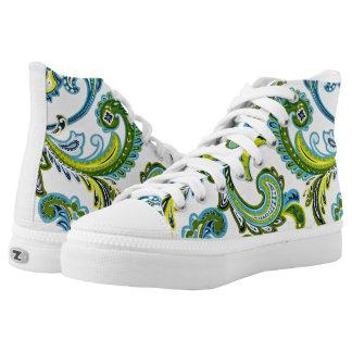 Zapatos de Paisley, mujeres de los E.E.U.U. 8,5 Zapatillas