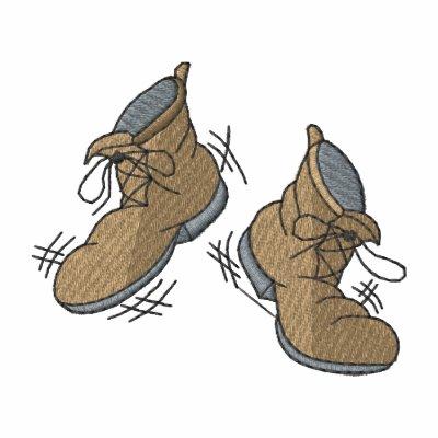 Zapatos del baile camiseta polo