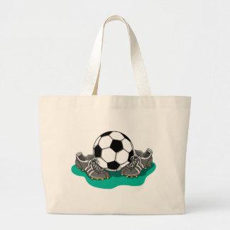 Zapatos del balón de fútbol bolsa de mano