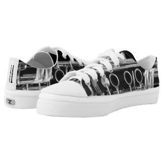 Zapatos del Clarinet con los cordones Zapatillas