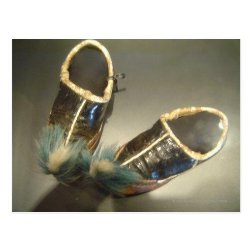 Zapatos del superviviente postales