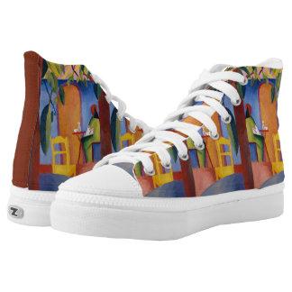 """Zapatos del top del alto del arte de """"Café turco"""" Zapatillas"""