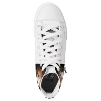 Zapatos del top del alto del beagle zapatillas
