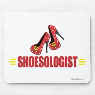 Zapatos divertidos tapetes de ratón