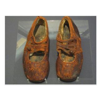 Zapatos perdidos, titánicos tarjeta postal