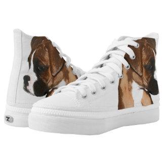 Zapatos tenis del top del alto del perrito del zapatillas