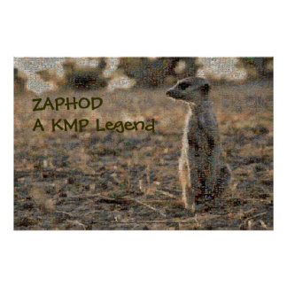 Zaphod - A KMP Legend - Poster