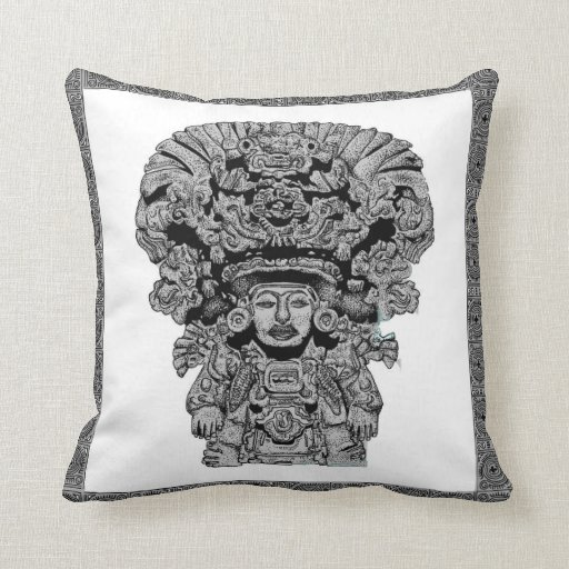 Zapotec God Of Maize Throw Pillow Zazzle