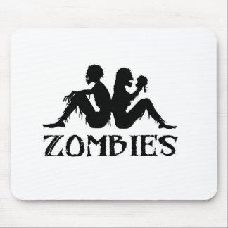 Zappa Zombies Mouse Pads