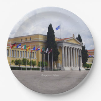 Zappeion – Athens Paper Plate