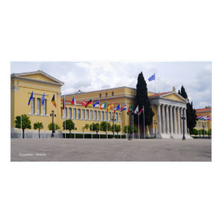 Zappeion – Athens Photo Card Template