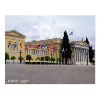 Zappeion – Athens Postcard
